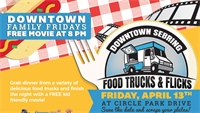 Food Trucks & Flicks – Free Movie at Circle Park!