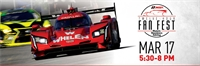 IMSA 2020 Fan Fest Billboard - March 17
