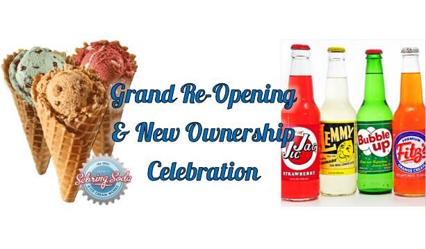 Sebring Soda Shop Grand Re-Opening & New Ownership Celebration!